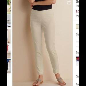 Soft Surroundings | Super Stretch Ankle Pant